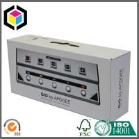 Single Wall B Flute Strong Cardboard Carton Packing Box with Plastic Handle Manufactures