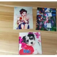 OEM 3D printing factory provide  india 3d lenticular card for sale with strong 3d depth lenticular effect Manufactures