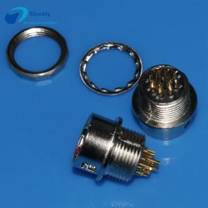 Buy cheap 10 pin Hirose Circular Connectors M11 10 pin female socket HR10A-10R-10S from wholesalers