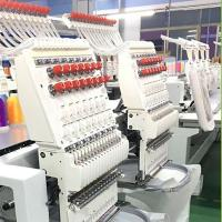 China Multi Function Computer Embroidery Machine , Embroidery Equipment on sale