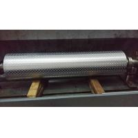 Non - Ferrous Metal / Leatheroid / Leather Embossing Rolls , Knurled Rollers Manufactures