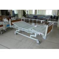 Buy cheap Super Low Durable Three Functions Mechanical Medical Care Bed with HPL Head Foot from wholesalers