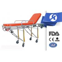 Hospital Ambulance Patient Stretcher Trolley , Hospital Emergency Trolley Manufactures