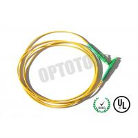 LC Connector Fiber Optic Patch Cord 1F TIGHT BUFFER 0.9mm CORNING SMF-28 ULTRA Manufactures