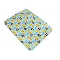 Comfortable Baby Swaddle Blankets With Panda Giraffe Rhino Pattern Manufactures