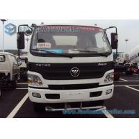 Foton Aumark Stainless steel Water Tanker Truck 2 Axles 4 * 2 Drive 6000 L - 7000 L 115 hp Manufactures