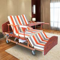 Single Folding Medical Beds For Home , Hospital Style Beds Aluminum Side Rails Manufactures