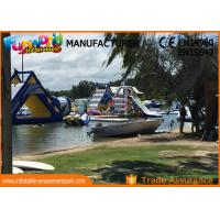 Buy cheap Giant Inflatable Water Parks / Hand printing Inflatable Aqua Park from wholesalers