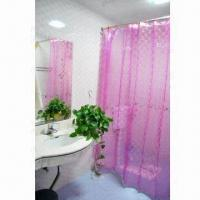 3D EVA Curtain for Shower Rooms, Safe and Nontoxic, Available in Various Colors and Designs Manufactures