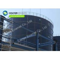 Center Enamel Glass - Fused - To - Steel Waste Water Storage Tanks For Wastewater Treatment Projects Manufactures