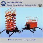 Diesel scissor lift table Manufactures