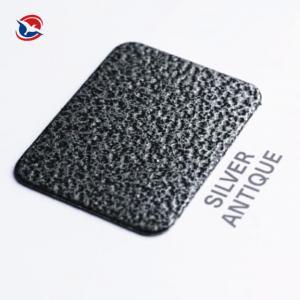 China Thermosetting Electrostatic Spray Crackle Epoxy Polyester Powder Coating Metallic Effect on sale