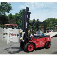 3.5 Ton Diesel Forklift Truck 6m Lifting Height LED Lighting For Power Consumption Manufactures
