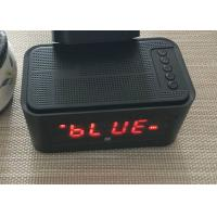 DC 5V USB Bluetooth 4.0 Alarm Clock Speaker Wireless FCC CE Certification Manufactures