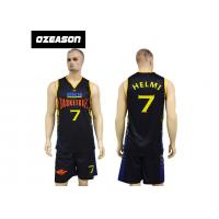 Quality Cheap Custom Dry Fit Lycra Basketball Uniforms For Adults And Kids for sale