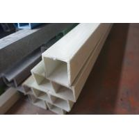 Plastic FRP Square Tube Pultruded Fiber Glass Reinforcement Composites 30*30mm Manufactures