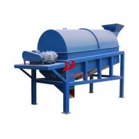 High Precision Rotary Trommel Screen Separator In Chemical Industry Compost Manufactures