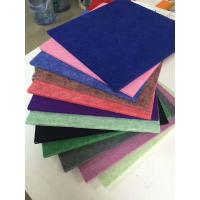 China 4.2kg Polyester Fiber Sound Acoustic Panel / Soundproof Panels For Walls wholesale