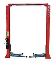 Lifting / Lowering Auto Workshop Equipment , 4.0Ton Dual Hydraulic Clear Floor Two Post Car Lift TLT240AT Manufactures