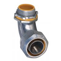 1 Inch Liquid Tight Angle Connector , Electrical Conduit Elbow Fittings Polished Manufactures