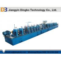 Straight Seam ERW Tube Welding Line , DB10mm Round Or Rectangular Pipe Milling Machine Manufactures