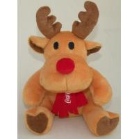 Coca Cola  Moose / Reindeer Stuffed Animal Toys Personalized Plush Toys Manufactures