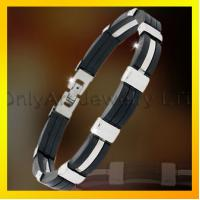 China good design magnetic health stainless steel bracelet for men on sale