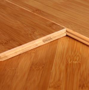 China Horizontal Carbonized bamboo flooring on sale