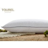 Textiles 5 Star 100% Cotton Hotel Comfort Pillows Jacquard Customed Logo Manufactures