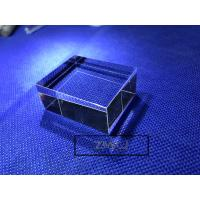 Hexahedron Sapphire Parts Optical Light Guide Block Lens For Laser Cosmetic Instrument Manufactures