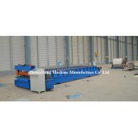 Trapezoidal Z Purlin / Roofing Sheet Roll Forming Machine 4kw Automatic Cutter Manufactures