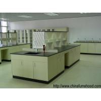 Heat Resistant Steel Lab Furniture Non - Glare Finish Workbench 1.5m Width Manufactures