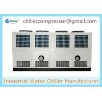 China 305kw Semi-hermetic Screw Compressor Air Cooled Water Chiller on sale
