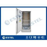 China Outdoor Power Cabinet / Battery Enclosure / IP55 19inch Rack Base Station Enclosure on sale
