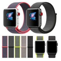 wholesale For Apple Watch Band 38MM 42MM Nylon Soft Breathable Nylon I Watch Replacement Band Sport Loop for Apple Watch Manufactures