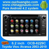 China Ouchuangbo Android 4.2 Sat Nav DVD Radio for Toyota Vios Avanza 2003-2010 with GPS USB iPod OCB-6229C on sale