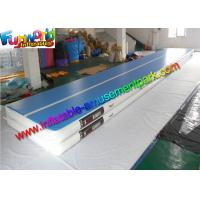 12m Inflatable Air Track , Inflatable Air Tumble Track With Drop Stitches