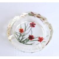 crystal flower pressed ashtrays,home decor, decoration,furnishings,home accessories Manufactures