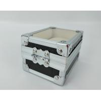 China Aluminum Watch Display Case Small Watch Carry Case For One Watch on sale