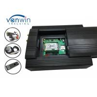 3g Video Car Camera Alarm System HDD Mobile DVR With G-Shock Geofence Panic Button Manufactures