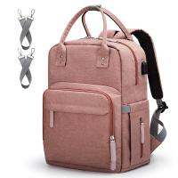 China Diaper Bag Backpack Multi-Function Maternity Nappy Bags for Mom Baby Bag with Laptop Pocket on sale