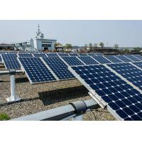 Multifunction Mono Solar Panels 19.5 % Cell Efficiency Apply To Street Light Manufactures