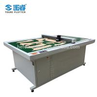 China Garment Flatbed Cutting Plotter 150 - 500G Paper Weight 110 / 220V on sale