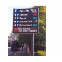 High Definition Scrolling Outdoor Digital LED Traffic Message Signs Installed on Highways Manufactures