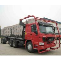 Sinotruk HOWO Chassis 10m Log Timber Truck , Truck Prime Mover 40-60t Manufactures
