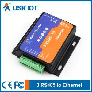 Serial Ethernet Server Converter - 3 RS485 port to TCP/IP Converter Manufactures