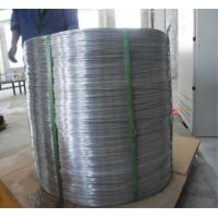 SWRY11 H08A Welding Aluminium Wire Rod Silk Well Electrical Conductivity Manufactures