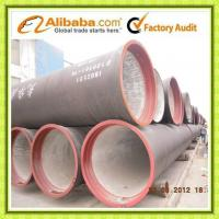 China Tianjin ISO2531 EN545 Ductile Iron Pipe DN80-1200 T type K9 on sale