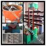 Rubber Tile Vulcanizing Press/Rubber Tile Making Machine/Rubber Tile Machine