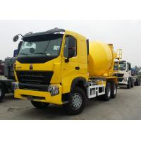 Sinotruk HOWO A7 Concrete Mixer Truck 9 Cubic Meter Tank Size 10 Wheels Manufactures